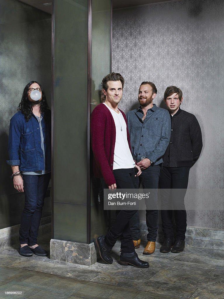 Kings of Leon, Telegraph UK, August 28, 2013