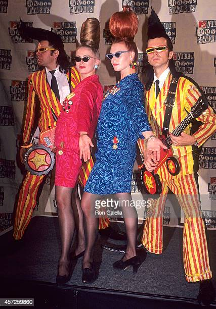 Rock band Leningrad Cowboys attends the 11th Annual MTV Video Music Awards on September 8 1994 at Radio City Music Hall