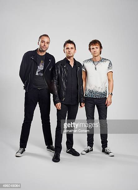 Rock band Muse are photographed on October 25 2009 in London England