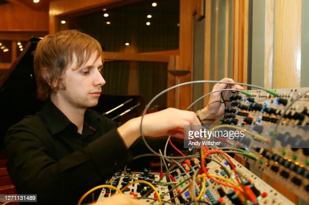 Rock band MUSE at Metropolis studios in London in 2006