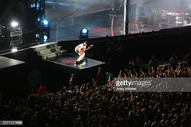 Rock band MUSE performing at Wembley Stadium in 2007