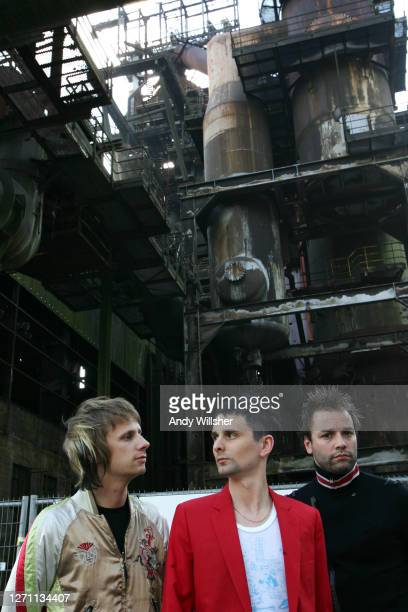 Rock band MUSE photographed in Luxembourg in 2007