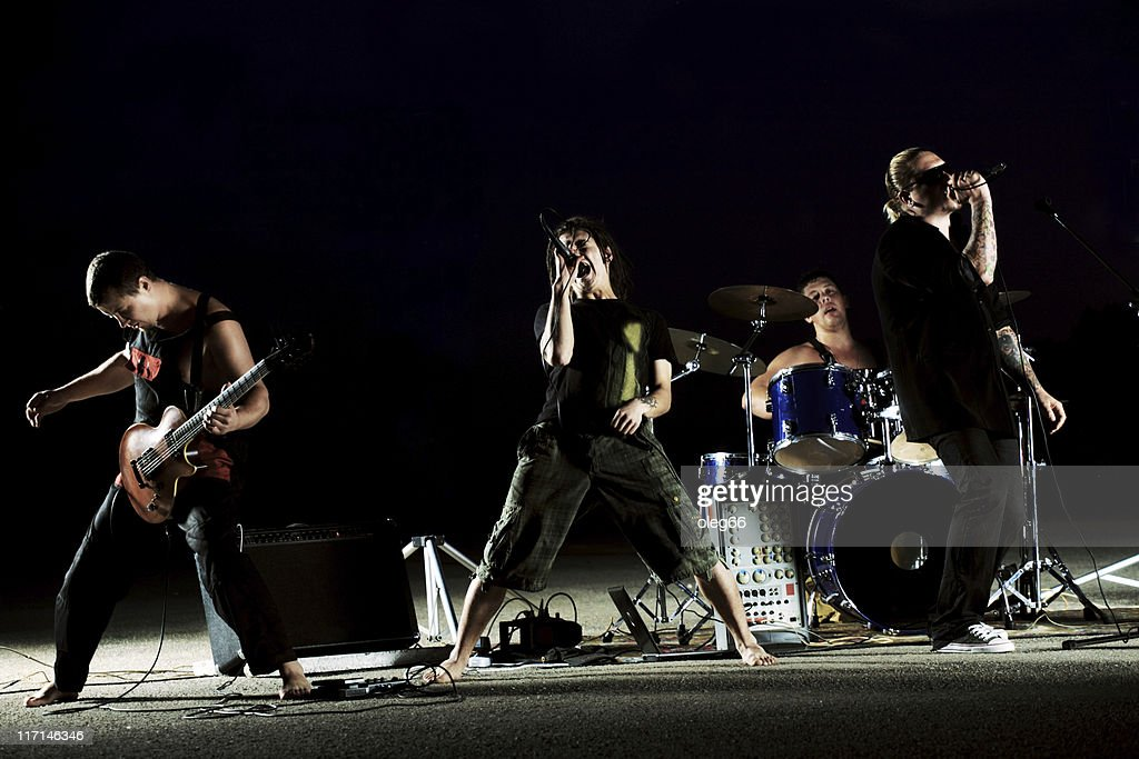 rock band : Stock Photo