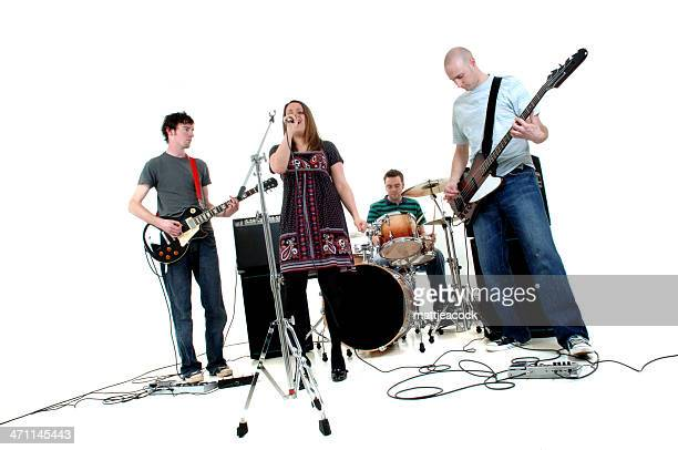 rock band - performance group stock pictures, royalty-free photos & images
