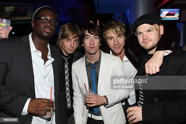 Rock band Plain White T's at the 2007 VMA After Party hosted by The Kingdom's Jamie Foxx and Jennifer Garner at the Palms Casino Resort on August 9...