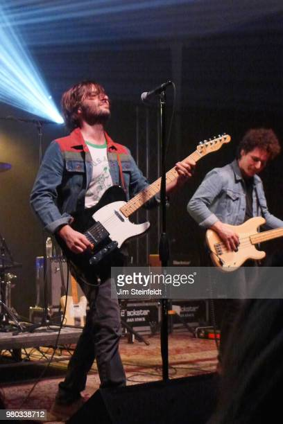 Rock band Rooney performs at Swing House studio in Los Angeles California on December 18 2016