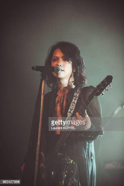 Rock Band VAMPS is photographed for Show on July 2 2015 in Paris France