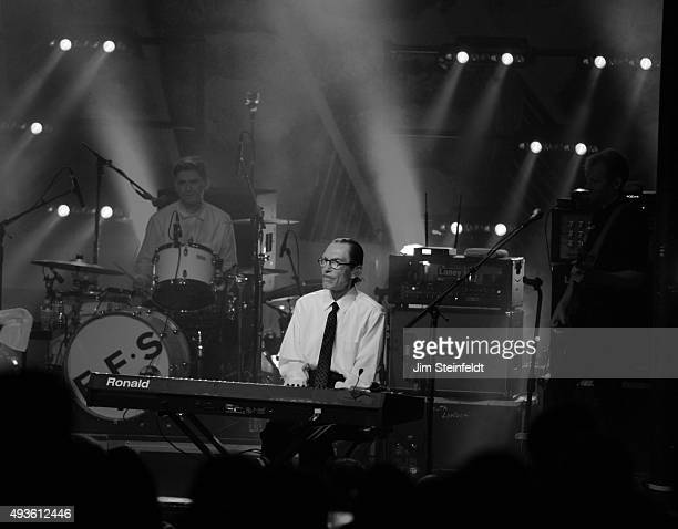 Rock bands Franz Ferdinand, and Sparks combine to form the band FFS, Paul Thomson, Ron Mael perform at The Observatory in Santa Ana, California on...