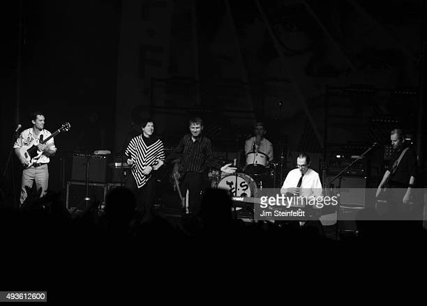 Rock bands Franz Ferdinand, and Sparks combine to form the band FFS Nick McCarthy, Russell Mael, Alex Kapranos, Paul Thomson, Ron Mael, Bob Hardy...