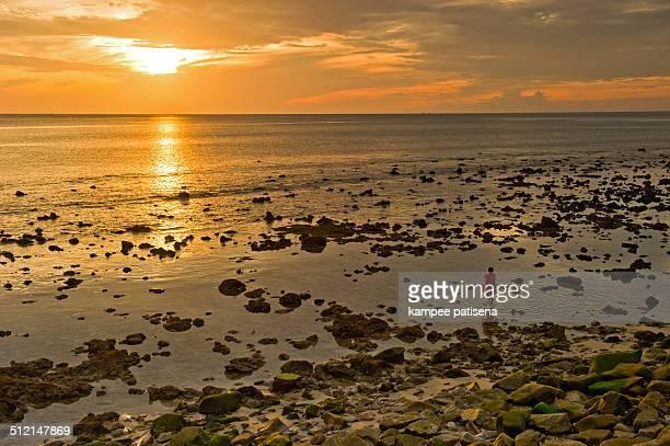 Rock beach in Phuket