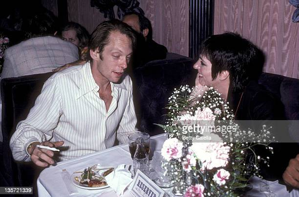 Rock Brynner and actress/singer Liza Minnelli attend the Endless Love Premiere Party on July 16 1981 at Hisae Restaurant in New York City