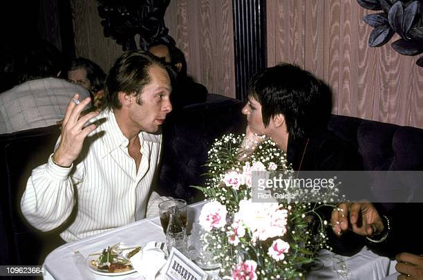 Rock Brynner and Liza Minnelli during Endless Love New York City Premiere After Party at Hisae Restaurant in New York City New York United States