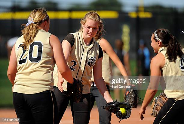 Rock Canyon pitcher Katie Cook pitched the entire seven innings and got the win The Rock Canyon High School softball team beat Erie 51 Saturday...