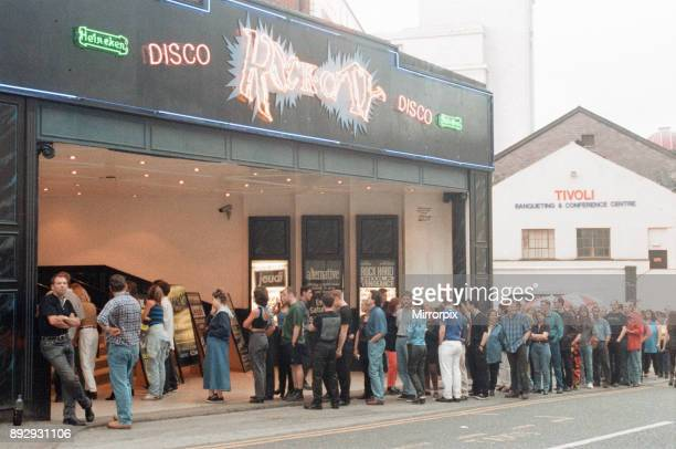 Rock City Nottingham music venue where David Bowie is performing this evening The Earthling World Tour Tuesday 5th August 1997