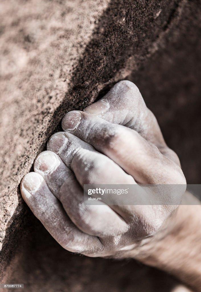 Rock climber : Stock Photo
