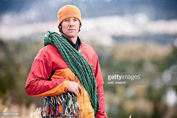 Rock Climber Portrait