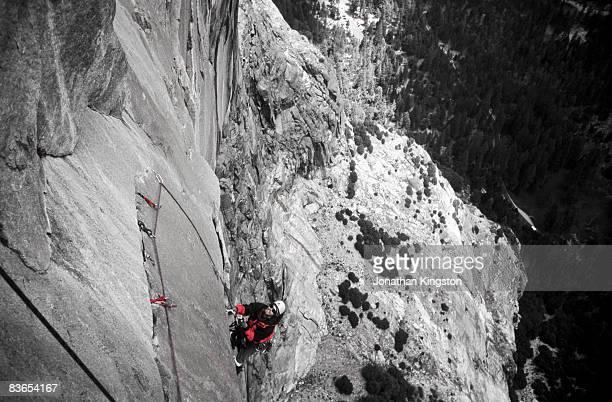 Rock climber, Yosemite, California.
