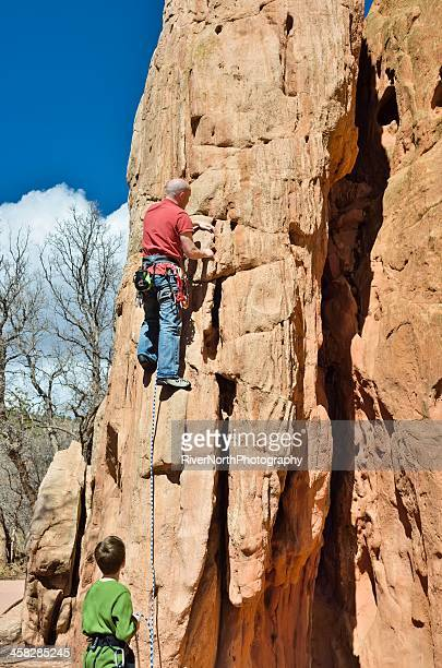 Garden of the gods stock photos and pictures getty images for Garden of the gods rock climbing