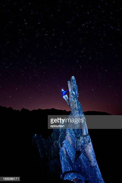 rock climbing in argentina - bariloche stock pictures, royalty-free photos & images