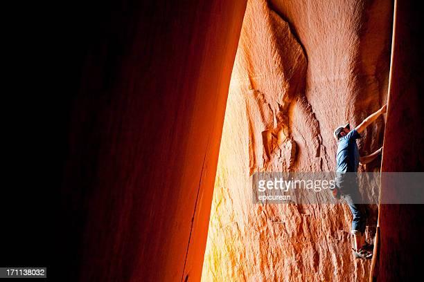 Rock Climbing in Utah at Indian Creek