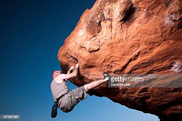 rock climbing - free climbing stock pictures, royalty-free photos & images