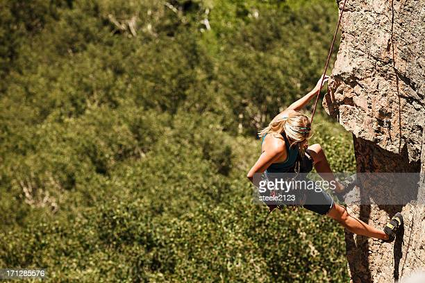 rock climbing - chalk bag stock pictures, royalty-free photos & images