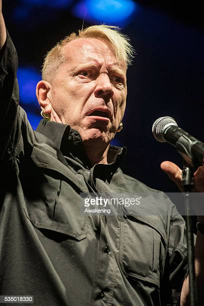 Rock concert at CS Rivolta in Marghera of PIL group of John Lydonknown as well as Johnny Rotten soloist voice of the Sex Pistols