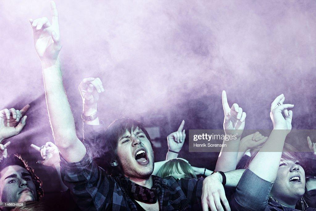 Rock concert : Foto de stock