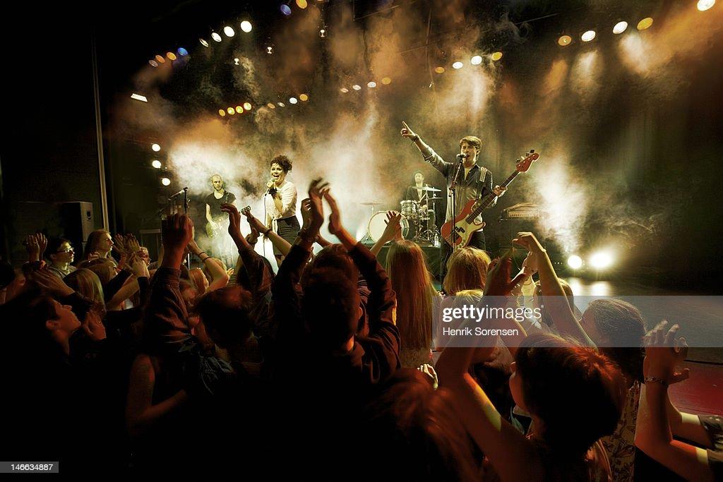 Rock concert : Stockfoto