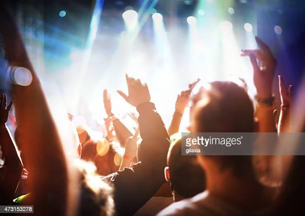 Rock-Konzert.