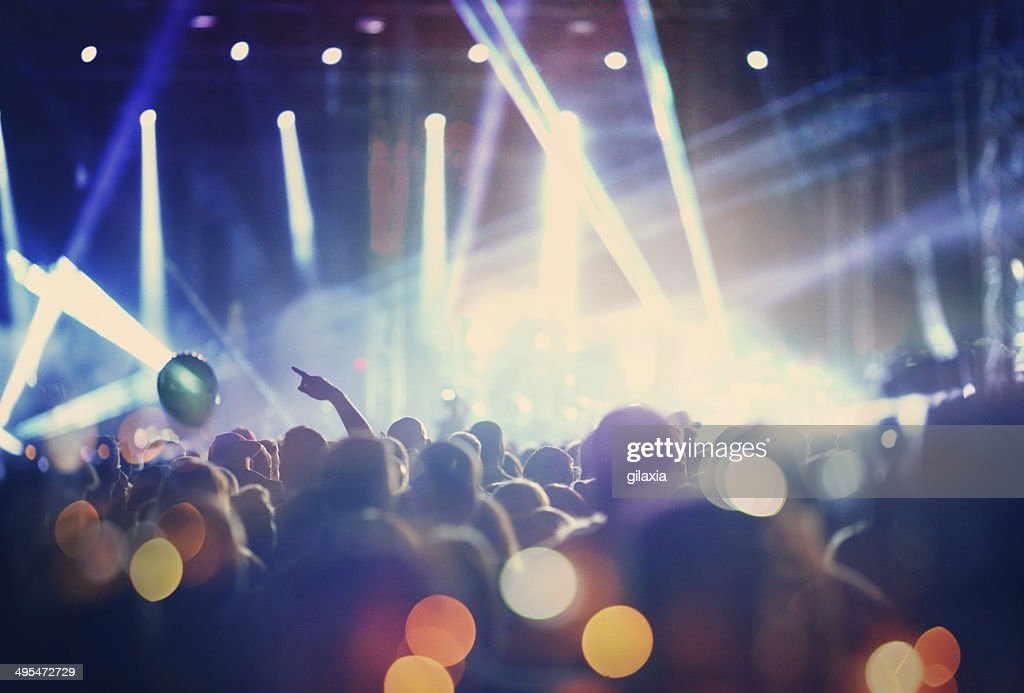 Rock concert. : Stock Photo
