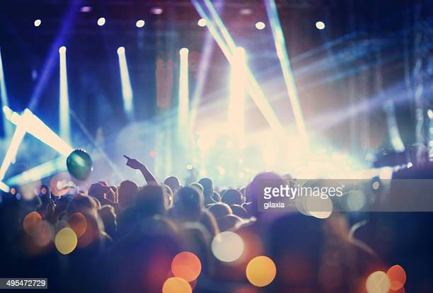 rock concert. - arts culture and entertainment stock pictures, royalty-free photos & images