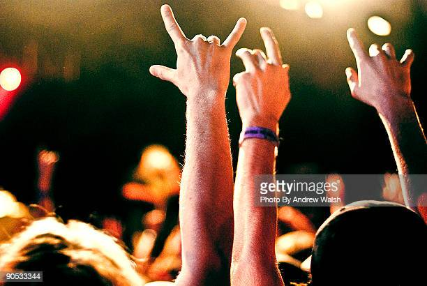 rock concert - popular music concert stock pictures, royalty-free photos & images