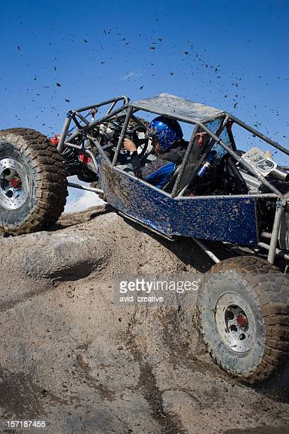rock crawling-flinging mud - rally car racing stock pictures, royalty-free photos & images