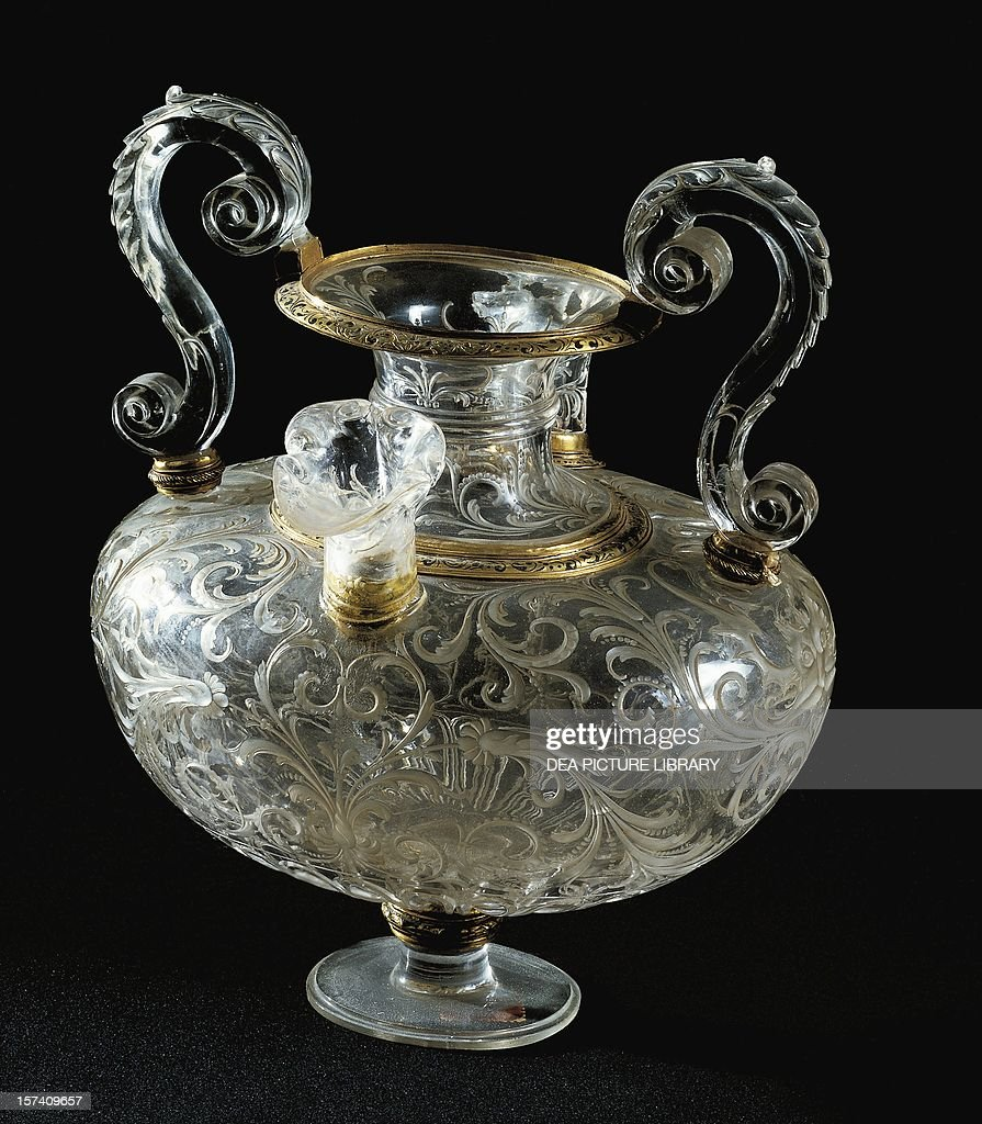 Rock crystal vase pictures getty images rock crystal vase florence 1570 italy 16th century florence palazzo reviewsmspy