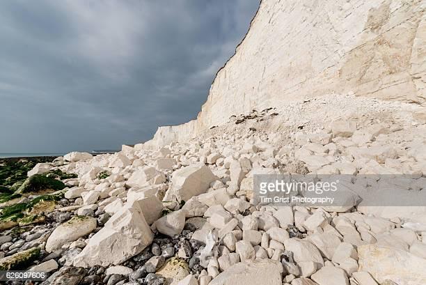 Rock Fall Debris, Seven Sisters Cliffs