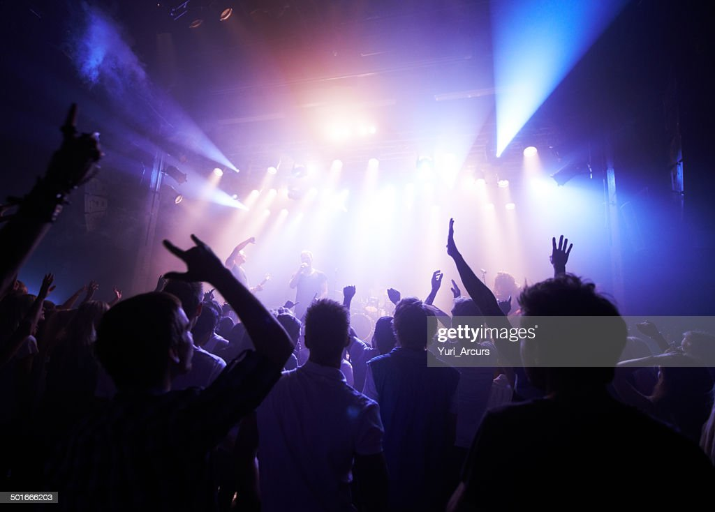 Rock fans unite! : Stock Photo