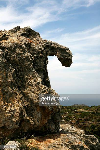 rock formation at cap de creus, the last eminences of the pyrenees, catalonia, spain, europe - last stock pictures, royalty-free photos & images