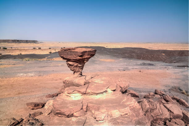 Rock Formation At Sahara Desert Near Tchirozerine Region, Agadez, Niger