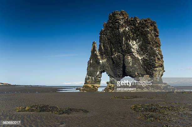 Rock Formation Hvitserkur Iceland