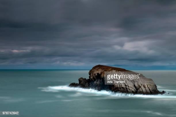 Rock formation in sea, Spain
