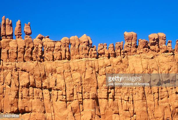 Rock formation known as 'The Judges' in Red Rock Canyon UT