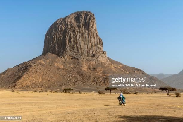 rock formation, mountains of assekrem, hoggar mountains, algeria - algeria stock pictures, royalty-free photos & images