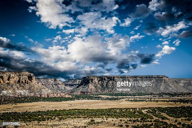 Felsformation nahe Acoma-Pueblo, New Mexico