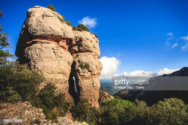 Rock formation near Sant Llorenç del Munt