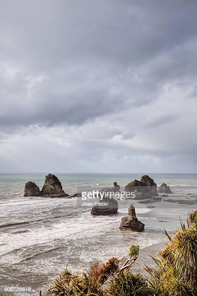 Rock formation, West Coast, New Zealand