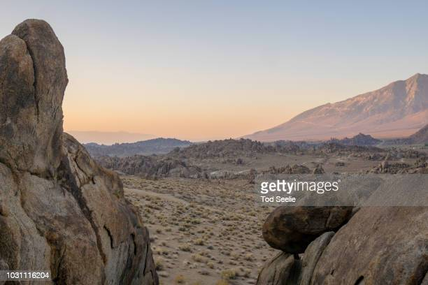 Rock formations at Alabama Hills