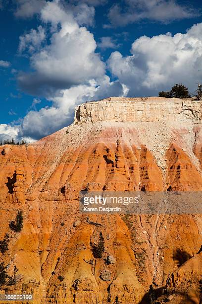 rock formations, cedar breaks national monument - iron_county,_wisconsin stock pictures, royalty-free photos & images