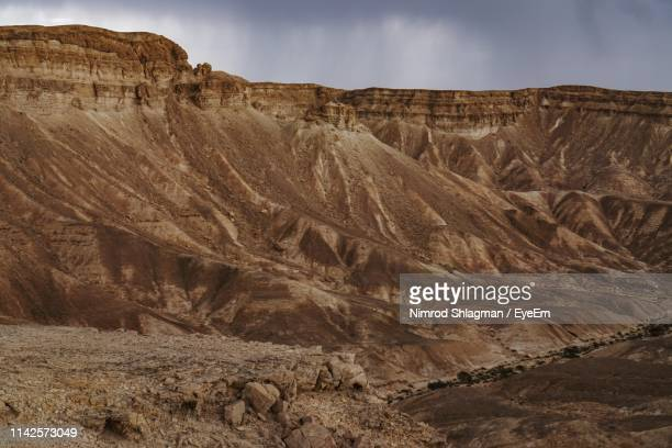 rock formations in a desert - palaeontology stock pictures, royalty-free photos & images