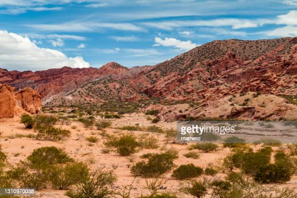 rock formations quebrada de cafayate valley